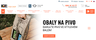 WEBSEITE Pack Shop Brno e-shop obaly a krabice