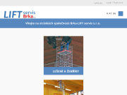 SITO WEB Brka - LIFT servis s.r.o Zdvihaci technika Hradec Kralove