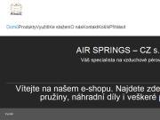 WEBOVÁ STRÁNKA AIR SPRINGS - CZ s.r.o.