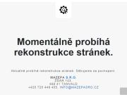 WEBOVÁ STRÁNKA MAZEPA s.r.o.