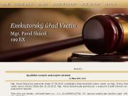 WEBOVÁ STRÁNKA Exekutorský úřad Vsetín - Skácel Pavel, Mgr., soudní exekutor