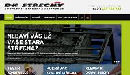 WEBOVÁ STRÁNKA DK STŘECHY - David Krejčí Střechy na klíč Kaplice - Český Krumlov