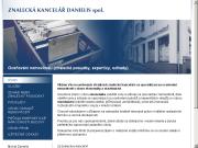 PÁGINA WEB Znalecka kancelar Danielis spol.