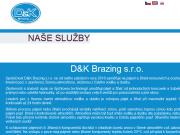 SITO WEB D&K Brazing s.r.o. pajeni a zihani v peci