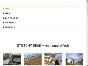 SITO WEB Strechy Deak