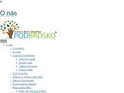 WEBOVÁ STRÁNKA MAS PODBRDSKO, z.s.