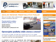 WEBOVÁ STRÁNKA PRIEMYSELNÉ PODLAHY A - Z, s. r. o.