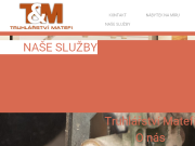 WEBOVÁ STRÁNKA Truhlářství Matefi Praha 9 Nábytek na míru