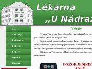 WEBOVÁ STRÁNKA Lékárna U Nádraží s.r.o.
