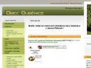 WEBOVÁ STRÁNKA Obecní úřad Ouběnice