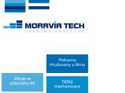 WEBOVÁ STRÁNKA Moravia Tech, a.s.