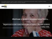 WEBOVÁ STRÁNKA Anděl Strážný, z.ú. Tísňová péče pro seniory Praha