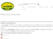 WEBOVÁ STRÁNKA Pískovna Javorník Vodohospodářské stavby Javorník-CZ s.r.o
