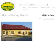 WEBOVÁ STRÁNKA Lékárna Uherský Ostroh Vodohospodářské stavby Javorník-CZ s.r.o