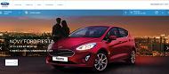 WEBOVÁ STRÁNKA HLOUCH MOTORS Autorizovaný prodejce vozů Ford