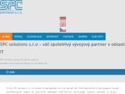 WEBOVÁ STRÁNKA SPC solutions, spol. s r.o.