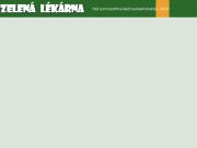 WEBOVÁ STRÁNKA ZELENÁ LÉKÁRNA - Lenka, s.r.o.