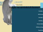 PÁGINA WEB HV-GRANIT s.r.o. Kamenictvi Jirny