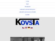 WEBOVÁ STRÁNKA KOVSTA s.r.o.