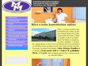 WEBSITE Martina Matulkova - kosmeticky salon