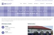 WEBOVÁ STRÁNKA HON-KUCHYNĚ studio Nový Jičín