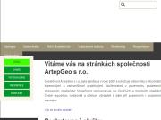 WEBOVÁ STRÁNKA ArtepGeo s.r.o. provozovna Ostrava
