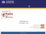 WEBOVÁ STRÁNKA Nails Karina Do Ngoc Tuoi