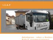 WEBOVÁ STRÁNKA Odvoz a likvidace odpadu Praha Ivana Zůčková - IZAP