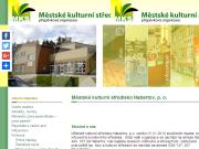 WEBSITE Mestske kulturni stredisko Habartov, prispevkova organizace