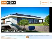 WEBOVÁ STRÁNKA Prodejna Žaluzie24.eu ISOTRA partner