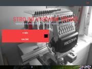 WEBOVÁ STRÁNKA Strojové vyšívání Aleš Chalupa