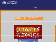 WEBSITE LUTONSKY - VIZOVICE s.r.o. www.malirivizovice.cz