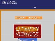 WEBOVÁ STRÁNKA LUTONSKÝ - VIZOVICE s.r.o.