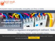 WEBOVÁ STRÁNKA BROŽ MaR s.r.o. Výroba elektrických rozvaděčů Sokolov