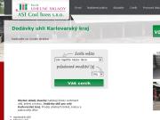 WEBOVÁ STRÁNKA AST Coal Trans s.r.o. Uhelné sklady Jaromír Kaucký