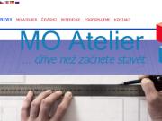 WEBOVÁ STRÁNKA MO ATELIER s.r.o. Stavební projekce Praha