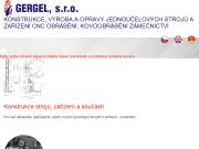 WEBOVÁ STRÁNKA GERGEL, s.r.o.