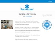 WEBOVÁ STRÁNKA Ordinace dentální hygieny Paracelsus Most