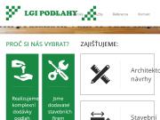 WEBOVÁ STRÁNKA LGI PODLAHY s.r.o.
