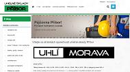 WEBOVÁ STRÁNKA Uhlí Morava s.r.o. Uhelné sklady Příbor