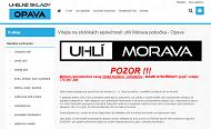 WEBOVÁ STRÁNKA Uhlí Morava s.r.o. Uhelné sklady Opava