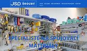 WEBOVÁ STRÁNKA JSP ŠROUBY s.r.o.