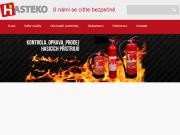 WEBOVÁ STRÁNKA HASTEKO s.r.o.