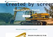 WEBOVÁ STRÁNKA Školicí středisko KNOTEK s.r.o.