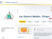 WEBOVÁ STRÁNKA Ing. Radom�r Mat�jka - Zl�ngeo