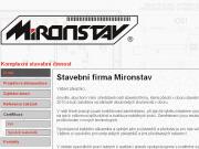 WEBOVÁ STRÁNKA MIRONSTAV s.r.o. Rodinné domy - rekonstrukce Praha