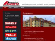 WEBOVÁ STRÁNKA KLEMPEX Vlastimil Čevelík