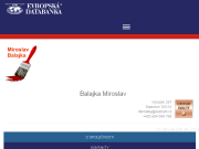 WEBOVÁ STRÁNKA Balajka Miroslav