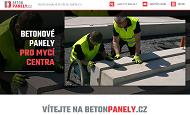 WEBOVÁ STRÁNKA BETONPANELY.cz Ing. Bořek Marek