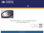 WEBOVÁ STRÁNKA Oční optik Mezírka - Mgr. Zdeněk Mezírka www.optikmezirka.cz